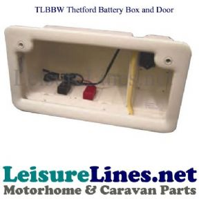 THETFORD BATTERY BOX &DOOR REQ LK